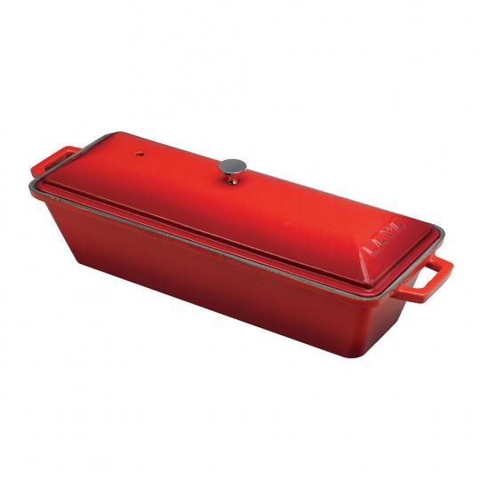 Terina litinová Lava Metal 26,5 x 6 x 8,5 cm - červená