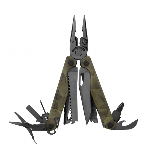Multitool Leatherman ® CHARGE Plus Camo Forest