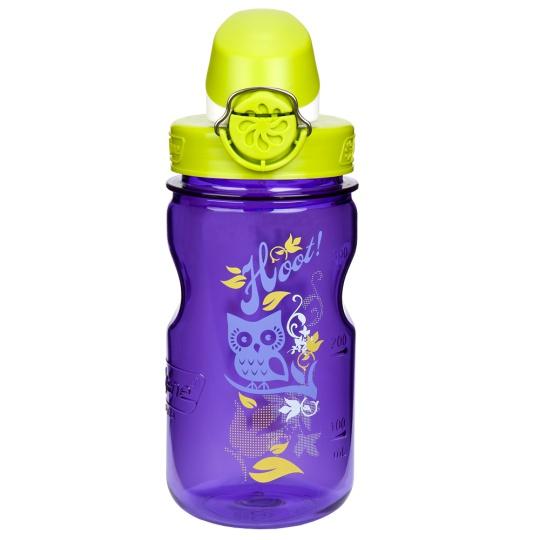 Láhev Nalgene OTF Kids - Purple Hoot 0,375L