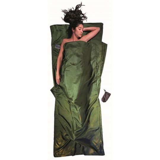 Cocoon spacáková přikrývka olive green