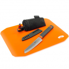 Sada na krájení GSI Outdoors Rollup Cutting Board Knife Set