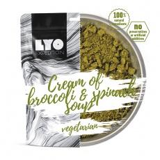 LYOFood Brokolicová  polévka se špenátem