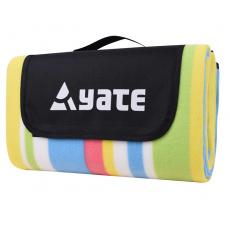 Pikniková deka Yate s Alu fólií vzor C 150 x 130 cm
