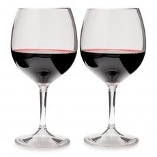 Plastové skládací sklenky na víno GSI Outdoors Nesting Red Wine Glass Set