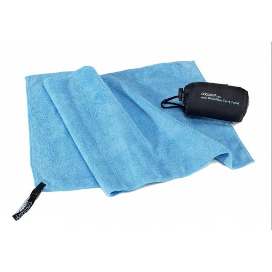 Cocoon lehký cestovní ručník M fjord blue