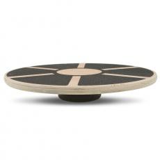 Balanční deska Yate - dřevěná, kruhová