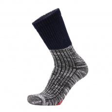 Ponožky Duras Toba Merino Anthracite - Blue