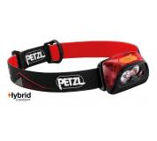 Čelovka Petzl Actik Core 450 Lumens - červená
