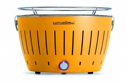 LotusGrill Corn Yelou + ZDARMA 1kg dřevěného uhlí LotusGrill + ZDARMA gelový podpalovač LotusGrill