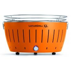 LotusGrill XL Mandarine Orange + ZDARMA 1kg dřevěného uhlí LotusGrill + ZDARMA gelový podpalovač LotusGrill + ZDARMA grilovací kleště LotusGrill
