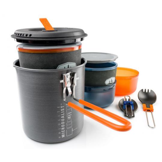 Nádobí GSI Outdoors Halulite Microdualist II