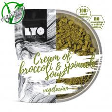 Krémová Brokolicová Polévka se Špenátem Lyo Food