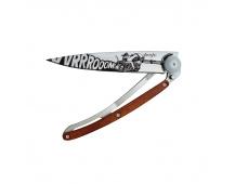 Nůž Deejo Biker Tatoos 37 g  Vroom - Rosewood