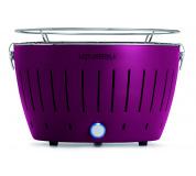 LotusGrill Plum Purple + ZDARMA 1kg dřevěného uhlí LotusGrill + ZDARMA gelový podpalovač LotusGrill