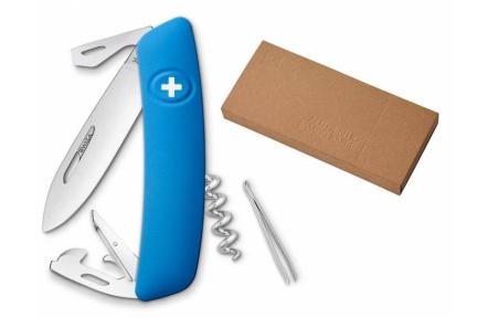 Swiza švýcarský kapesní nůž D03 blue dárkové balení