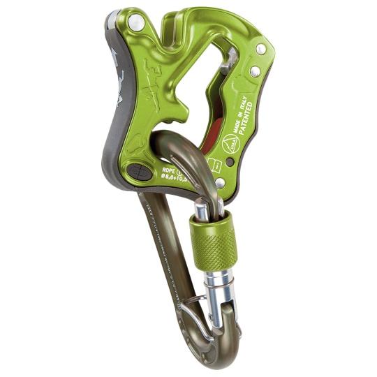 Brzda Climbing Technology Click Up Kit + ZDARMA karabina  Lime SG Climbing Technology