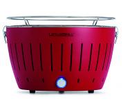 LotusGrill Blazing Red + ZDARMA 1kg dřevěného uhlí LotusGrill + ZDARMA gelový podpalovač LotusGrill