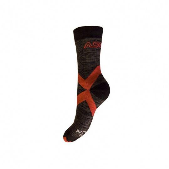 Ponožky Asolo by NANOsox RED