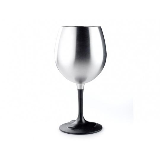 Nerezová sklenice GSI Outdoors Glacier Stainless Nesting Red Wine Glass