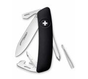 Swiza švýcarský kapesní nůž D04 black