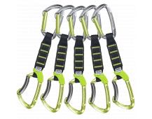 Climbing Technology 5x LIME SET NY PRO 12cm Green