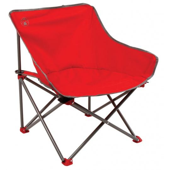 Kempinkové křeslo Coleman Kickback Chair (červené)