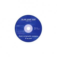 Alan mapa Evropy pro Alan Map 500