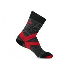 Ponožky Asolo by NanoSox NSX W Black/Red