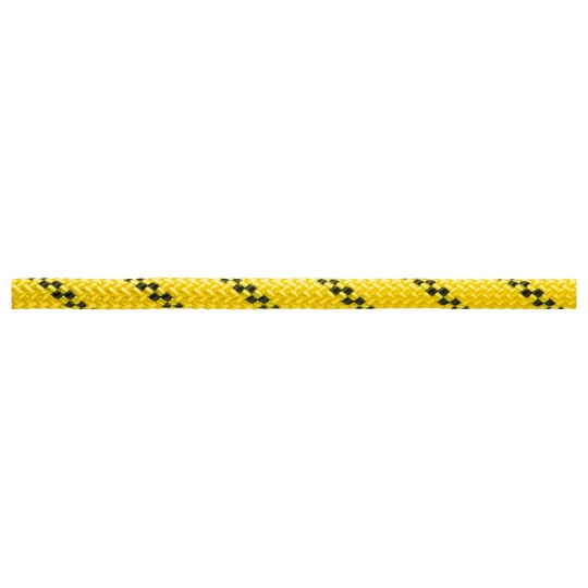 Nízkoprůtažné Lano Petzl Axis 11 mm 200m žluté