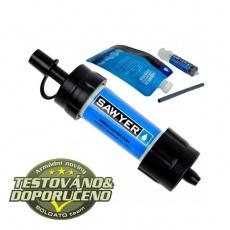 Vodní cestovní filtr Sawyer SP128 Mini Filter Blue